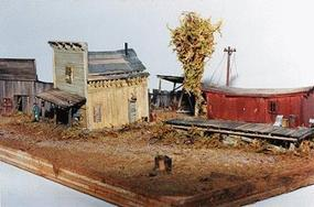 JV Watson's Siding Kit O Scale Model Railroad Building #4020