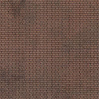 JV Roofing Sheets Brown 3/ - HO-Scale (3)