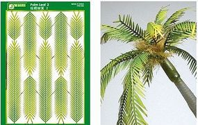 JsWorks Multi-Scale Narrow Palm Leaves (Colored Paper)