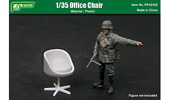 JsWorks 1/35 Office Chair (Plastic Kit)
