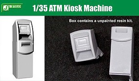 JsWorks 1/35 ATM Kiosk Machine (Resin Kit)