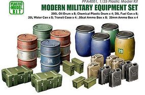 JsWorks 1/35 Modern Military Equipment Set (Plastic Kit)