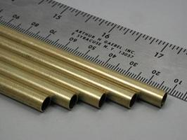 K-S 1/4x36 Round Brass Tube .014 Wall (5)