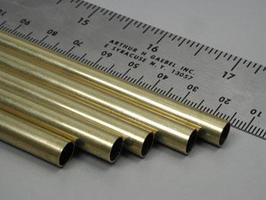 K-S 9/32x36 Round Brass Tube .014 Wall (5)