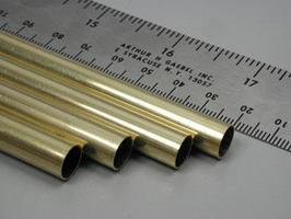 K-S 11/32x36 Round Brass Tube .014 Wall (4)