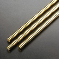 K-S 1/4x36 Solid Brass Rod (4)