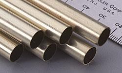 K & S Round Brass Tube 3/8 (6)