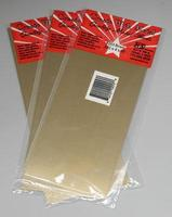 K-S (bulk of 3) Sheet Brass 4x10x.032
