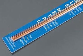 K-S 1/16, 3/32 Bendable Copper Rods (4/cd)