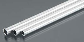 K-S 3/16, 7/32, 1/4 Bendable Aluminum Tubes (3/cd)