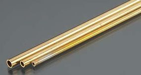 K-S 3/32'', 1/8'', 5/32'' Bendable Brass Tubes (3/cd)
