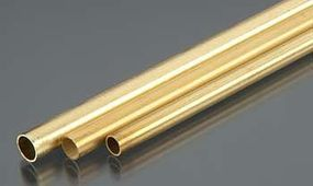 K-S 3/16, 7/32, 1/4 Bendable Brass Tubes (3/cd)