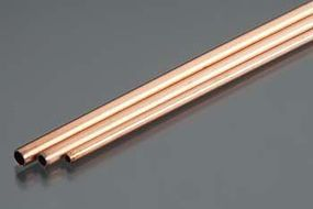 K-S 3/32, 5/32, 1/8 Bendable Copper Tubes (3/cd)