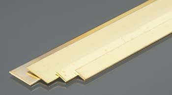 K-S 1/4, 1/2 Bendable Brass Strips .032 (4/cd)