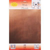 K-S 12''x18'' Punch Metal Copper Sheet