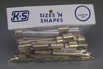K & S Sizes & Shapes Asst
