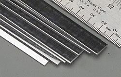 K & S Stainless Steel Strip 12'' -- .028 x 1/2''