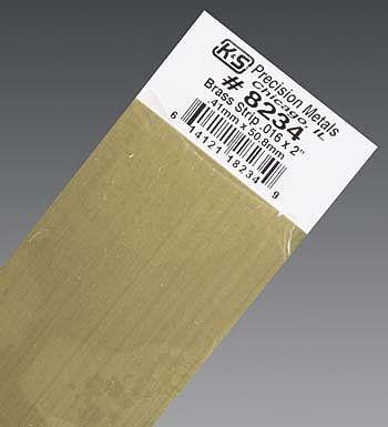 K /& S PRECISION METALS 8246 .064 x 1//2 x 12 Brass Strip
