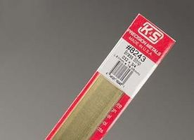 K-S Brass Strip .032 x 3/4