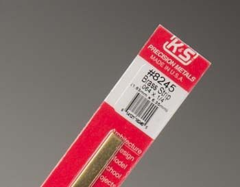 K-S Brass Strip .064 x 1/4