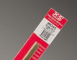 K-S Brass Strip .064x1/4