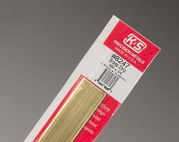 K-S Brass Strip .064 x 3/4