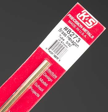 K & S Hexagon Tube 5/32''
