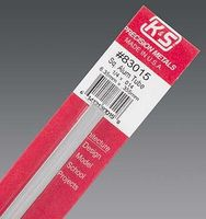 K-S (bulk of 5) Square Aluminum Tube 1/4 x .014 Hobby and Craft Metal Tubing #83015