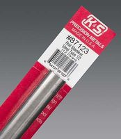 K-S 1/2x12 Round Stainless Steel Tube .025 Wall (1)