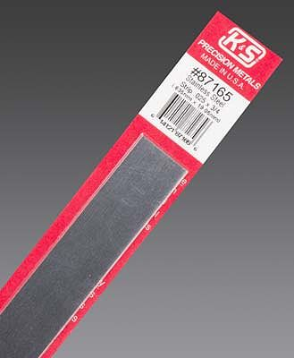 K & S .025''x3/4''x12'' Stainless Steel Strip (1)