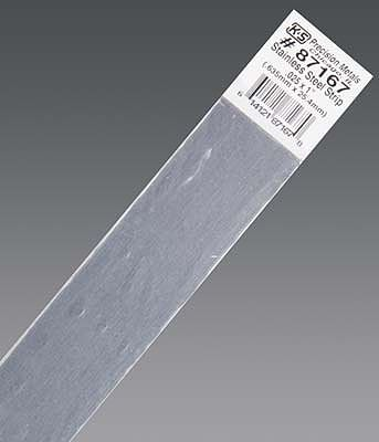 K & S .025''x1''x12'' Stainless Steel Strip (1)