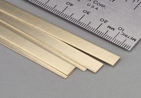 K-S Brass Strip .016x1/4x36 (5)