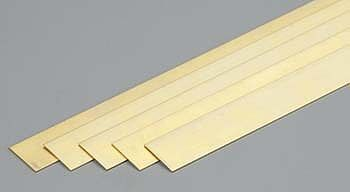 K-S .016 X1/2 X36 BRASS STRIP