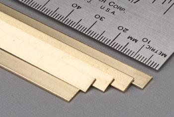 K-S .032 X1/4 X36 BRASS STRIP