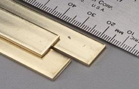 K-S Brass Strip .064x1/2x36 (3)