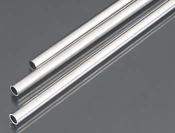 K-S 5mm x 300mm Round Aluminum Tube .45mm Wall (3)