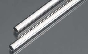 6mm x 300mm Round Aluminum Tube .45mm Wall (2)