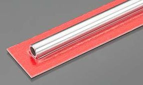 8mm x 300mm Round Aluminum Tube .76mm Wall (1)