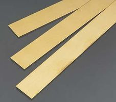 K-S Brass Strip .5mm Thick x 18mm Wide (3)