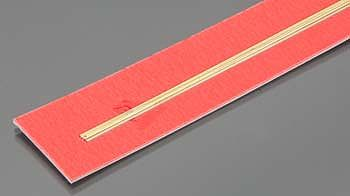 K-S .5mm x 300mm Solid Brass Rod (5)