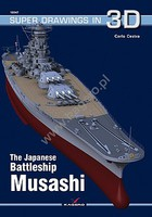 Kagero Super Drawings 3D- Japanese Battleship Musashi
