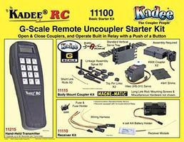 Kadee Basic Starter Kit G-Scale