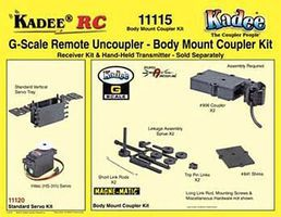 Kadee Body Mount Coupler Kit - G-Scale
