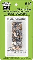 Kadee #58 Scale Metal Magne-Matic w/o Draft Box (40) HO Scale Model Train Coupler #12
