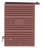 Kadee 7 Youngstown Box Car Door with High Tack Board Red Oxide HO Scale #2234