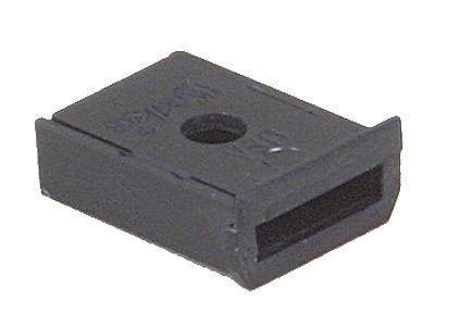 Kadee Quality Products Snap-Together Insulated Gearbox Black Box (20) -- HO Scale Model Train Coupler -- #242