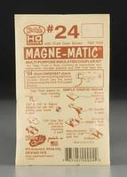 Kadee 20 Series Magne-Matic Short Underset Shank 1/4 HO Scale Model Train Coupler #24