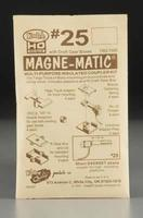 Kadee 20-Series Magne-Matic Coupler Short 1/4 Overset HO Scale Model Train Coupler #25
