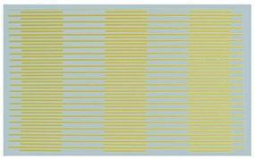 Kadee Street Decals - Solid/Dash - Yellow Lines HO Scale Model Railroad Roadway Decal #3124