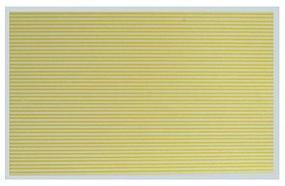 Kadee Street Decals Solid/Solid Yellow HO Scale Model Railroad Roadway Decal #3126